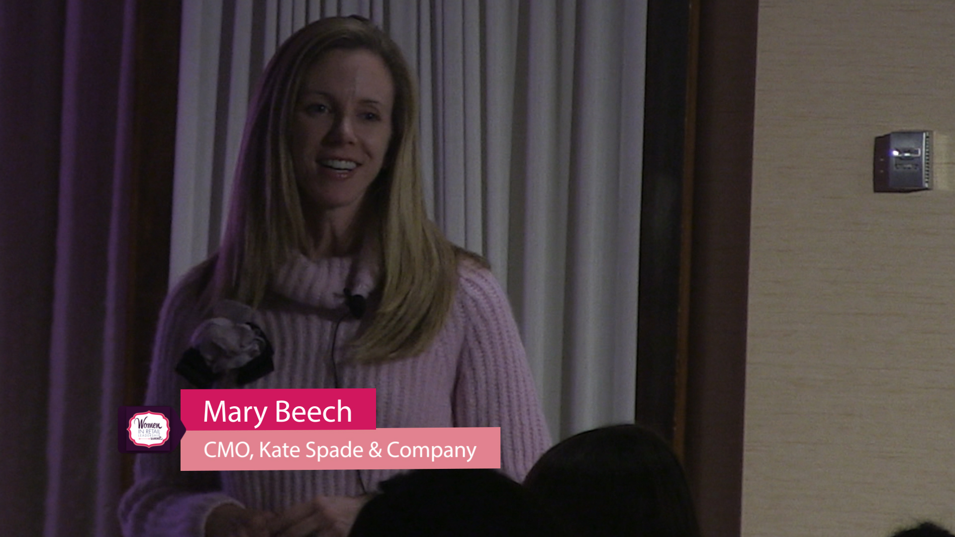 Mary Beech at Girl Talks East
