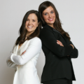 Jeanne Foley (l) and Diana Ganz (r), Co-Founders, The Groomsman Suit